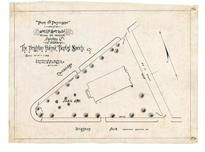 Brigton Ave Baptist Society 1890 Union Square, Allston 1890c Survey Plans
